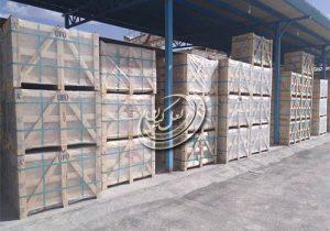 نوع بسته بندی صادراتی سنگ ساختمانی چیست؟